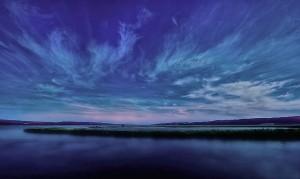 Himmel-skyer-mnd-bilde